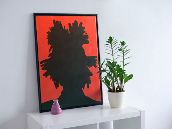 Jean Michel BASQUIAT célébre new york toile canvas  art artistique artist peinture paint sculpture clay creation design décoration deco home maison minimaliste arty