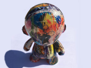 ART-TOY figurine toy jouet adulte artoy con art artistique artist peinture paint sculpture clay creation design décoration deco home maison minimaliste arty